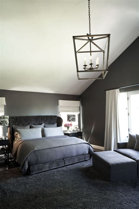 Monochromatic Palette Modern Bedroom - Interiors By Color