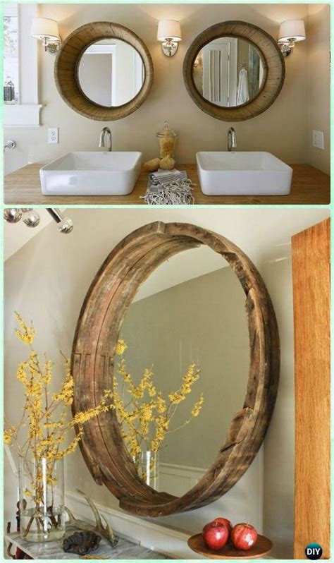 DIY Decorative Mirror Frame Ideas and Projects [Picture