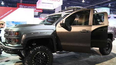 LINE-X Launches Truck Gear by LINE-X at SEMA 2013 - YouTube