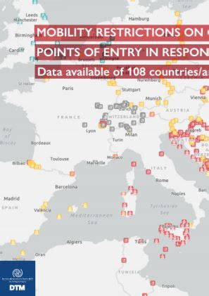 Mobility Restrictions on Countries'/Areas' Points of Entry