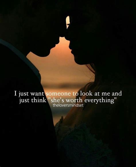 """I just want someone to look at me and just think """"she's"""