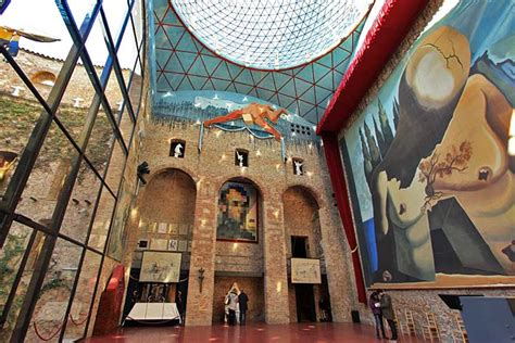 PHOTO: Main Hall at Dali Theatre-Museum in Figueres, Spain