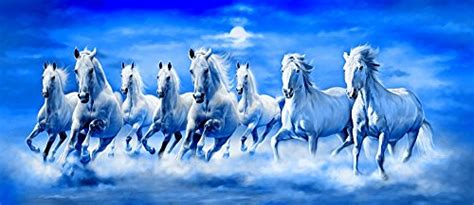Art Factory Feng Shui Eight Horse Painting - Buy Online in