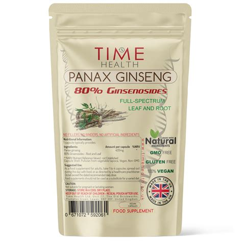 Panax Ginseng 80% Ginsenosides Full-spectrum Leaf and Root