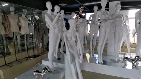 Wholesale Full Body Mannequins Champagne Gold Used