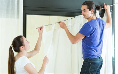 How to Hang Curtain Rods - The Home Depot