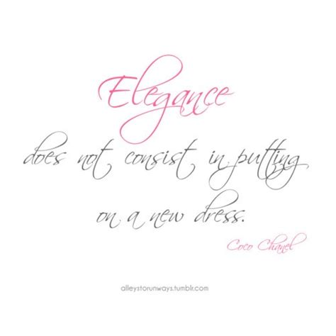 Coco chanel quotes sayings elegance meaning - Collection