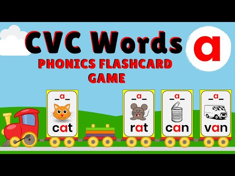 10 Free CVC Word Puzzles | Liz's Early Learning Spot