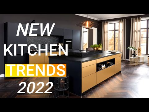 Top 10 Kitchen Trends For 2022 - HomeDecorateTips