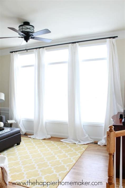 How to Hang Curtains Using Command Hooks   The Happier