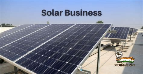 Solar Business in India - A Business of Endless Possibilities