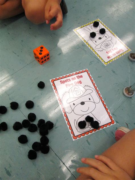 FREEBIE! Math Center Activity for Fire Safety Month | Fire
