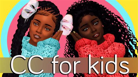 The Sims 4 CC for Kids + Full CC Links UPDATED - YouTube