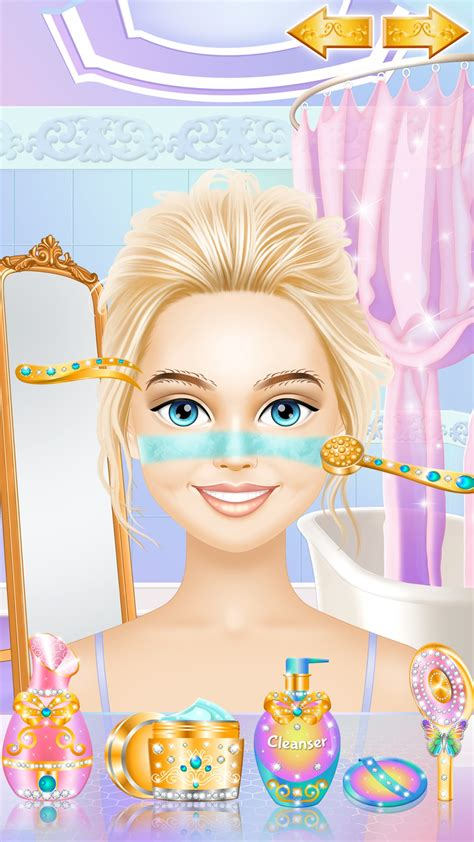 Fashion Girl Makeover - Spa, Makeup and Dress Up Game for