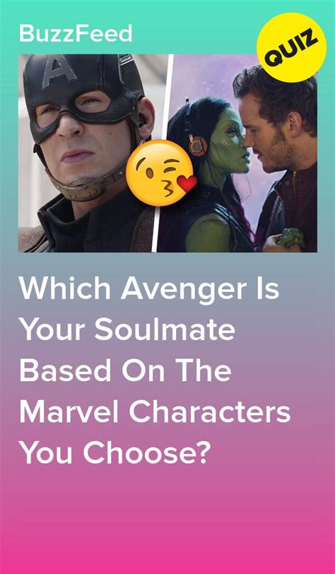The Marvel Characters You Choose Will Reveal Which Avenger