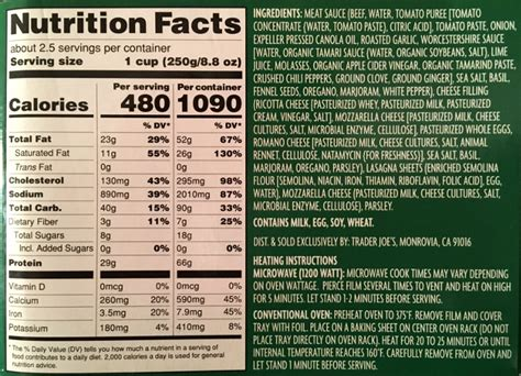 Trader Joe's Meat Lasagna Review – Freezer Meal Frenzy