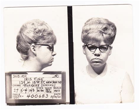Broads, Dames, Dolls and Dishes: Gorgeous 1960s Mugshots