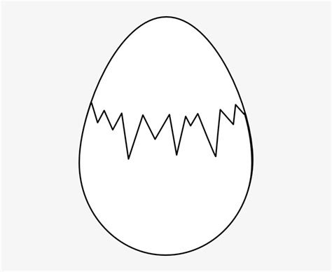 Download Dinosaur Egg Clipart Black And White - Colouring