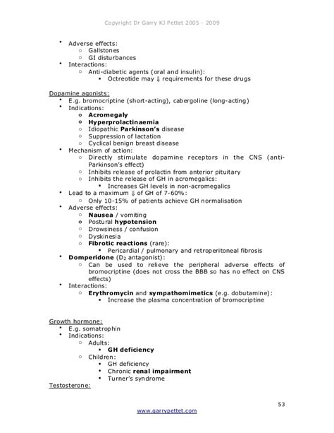 Clinical Pharmacology & Therapeutics Revision Notes