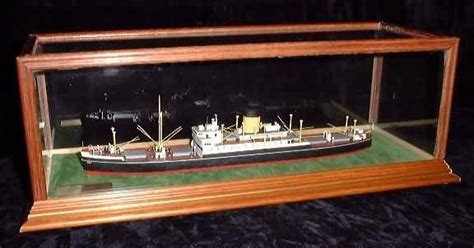 Glass Display Cases for Ship, Boat Models   DSC Showcases