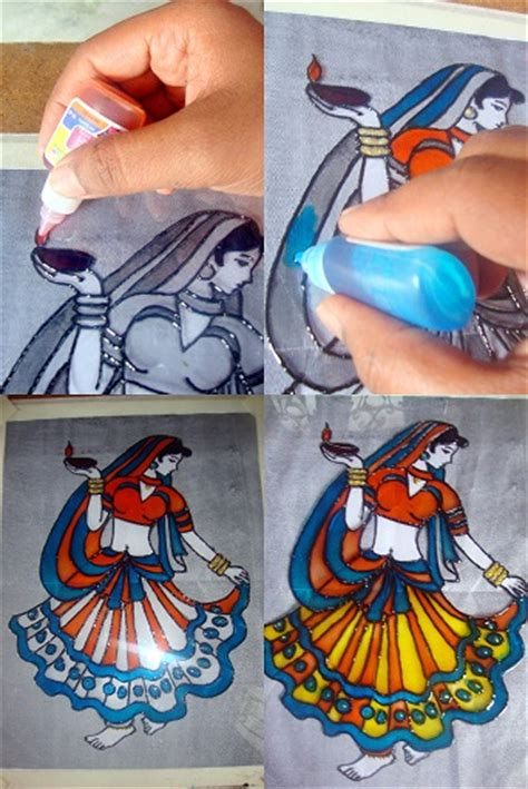 How to do Glass painting - Tutorial for beginners - Create